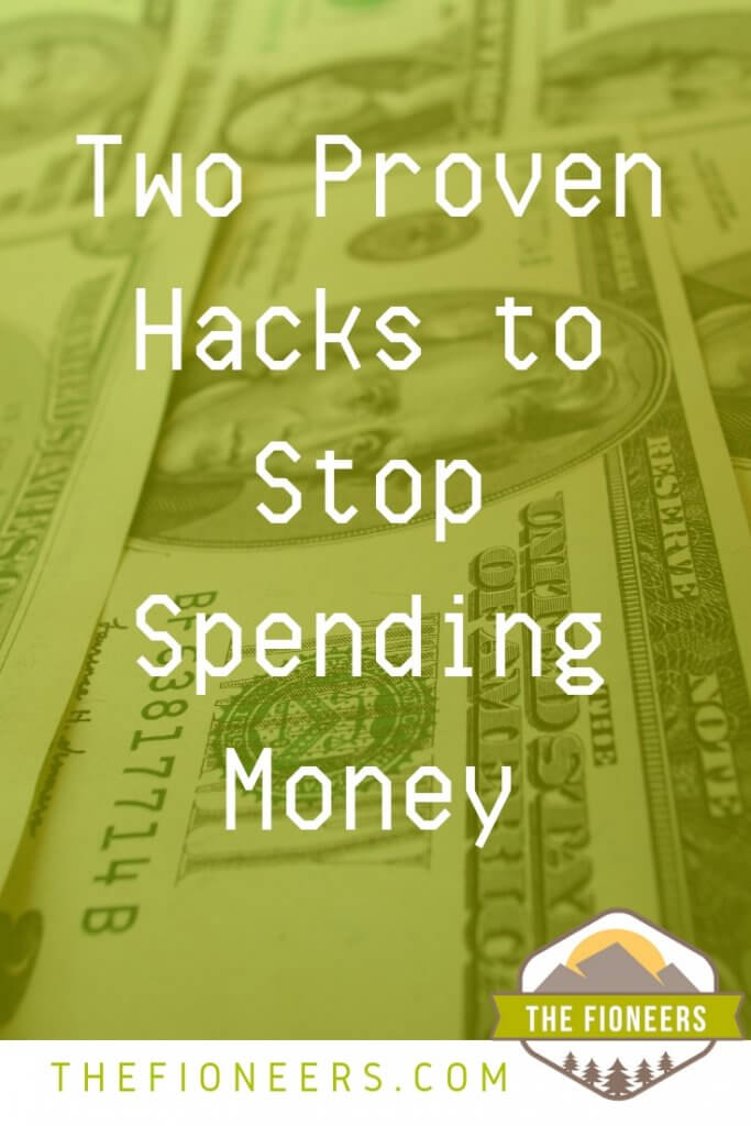 Hacks to stop spending