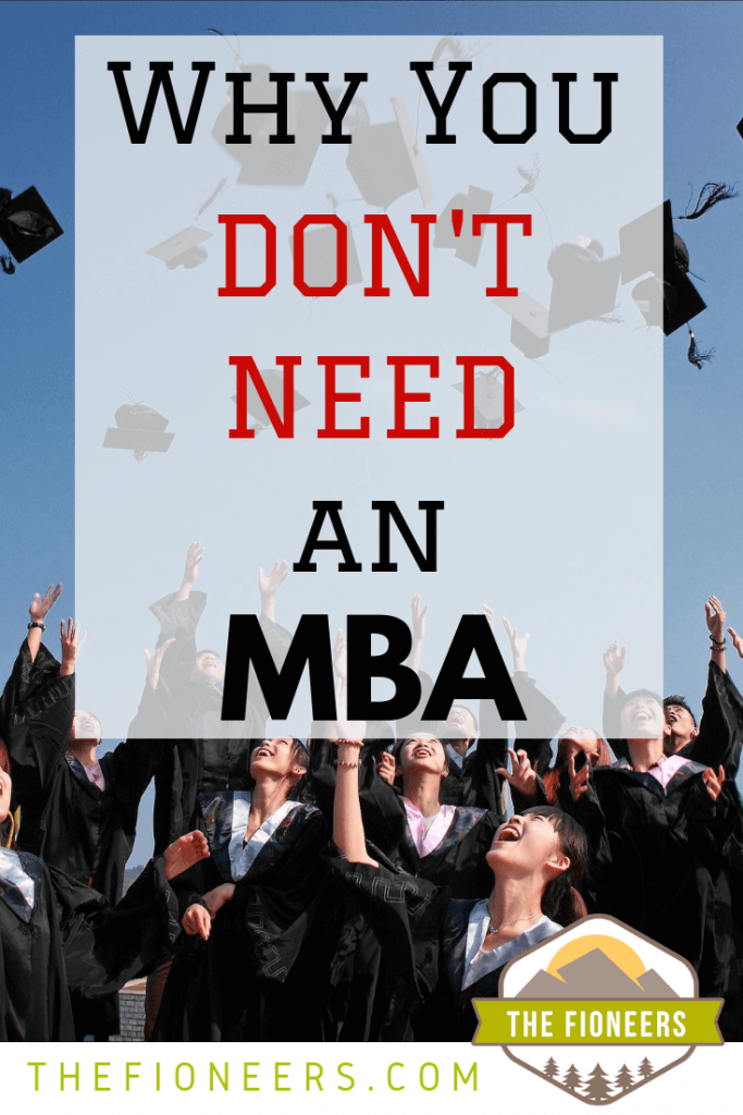 graduation why you don't need mba