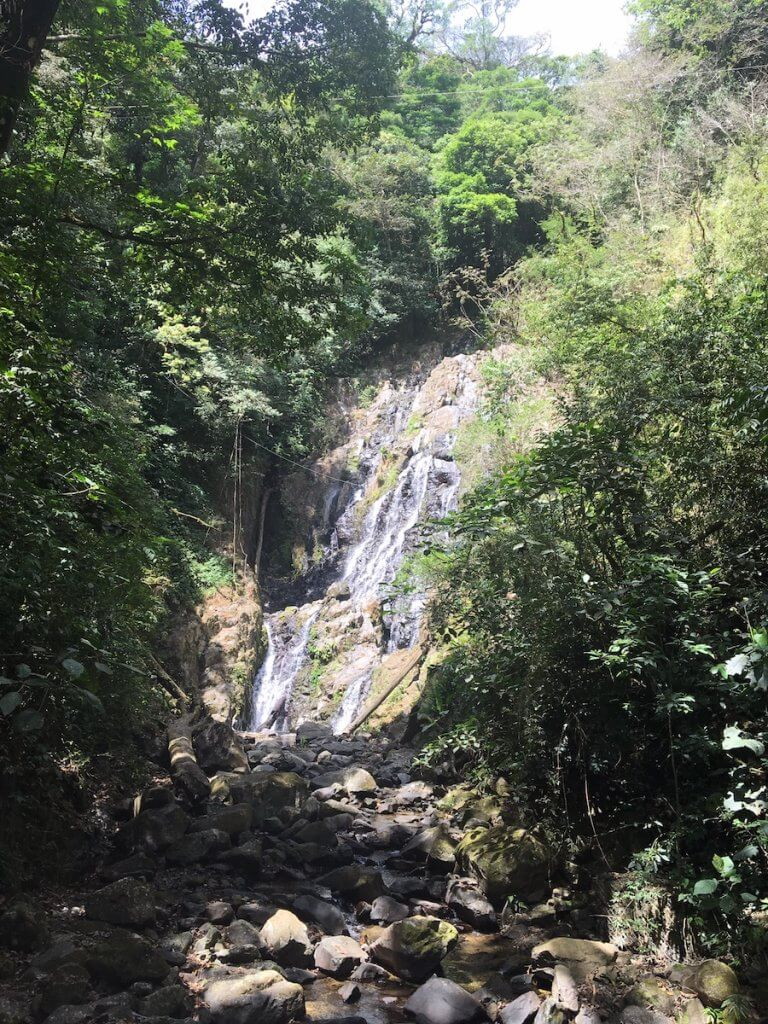 El Chorro de Macho waterfall