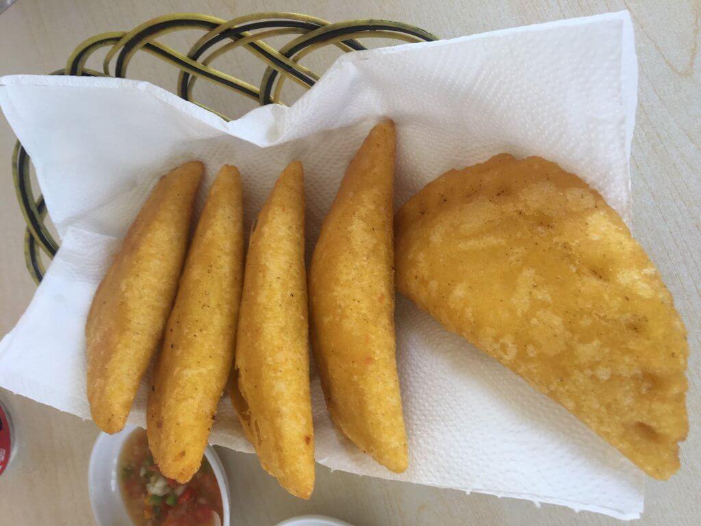empanadas from contadora island