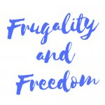 Logo Frugality and Freedom