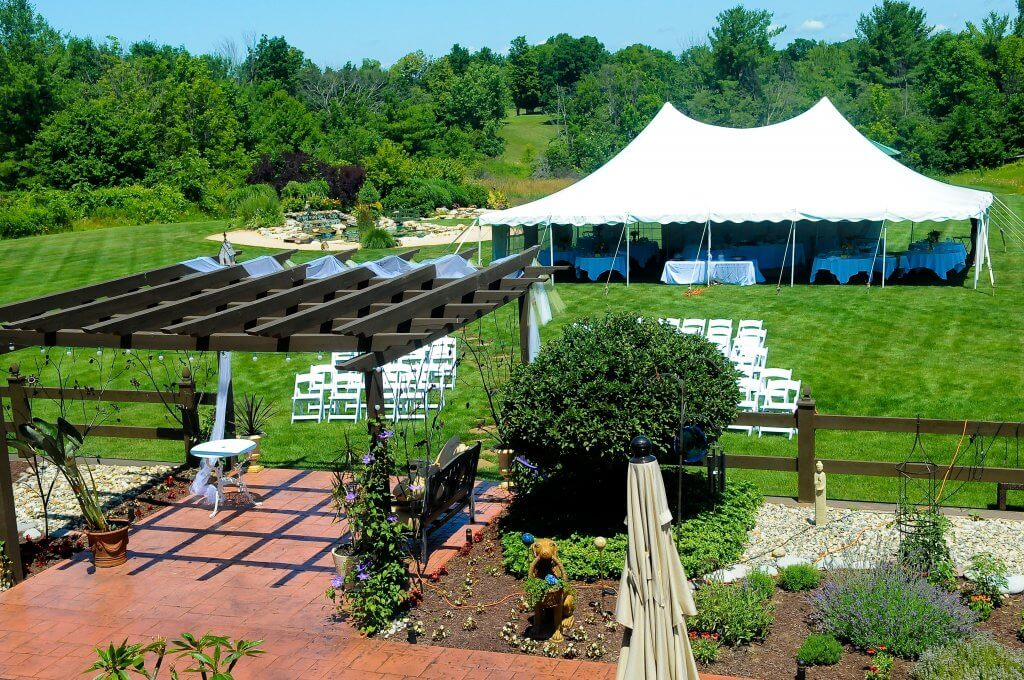 Wedding venue outdoor