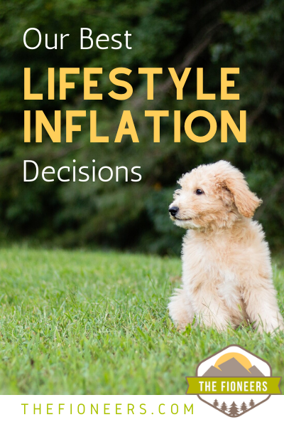 Puppy lifestyle inflation