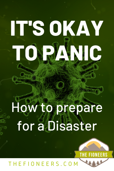 Disaster Virus Panic