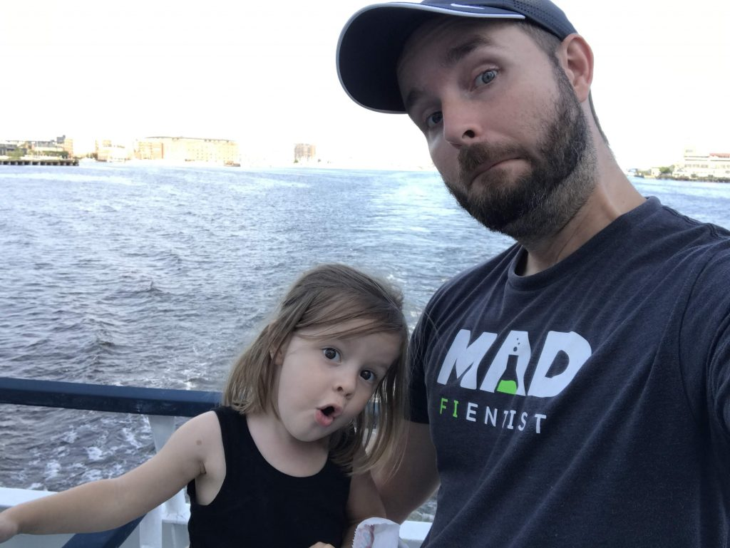 dad daughter silly