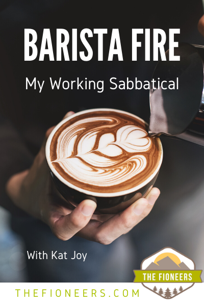 Barista coffee latte
