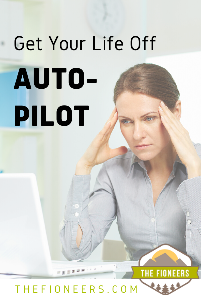 woman unhappy autopilot