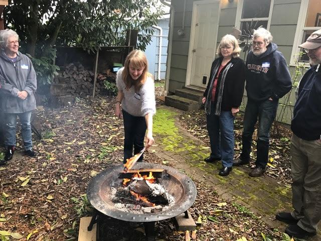 Campfire group burn