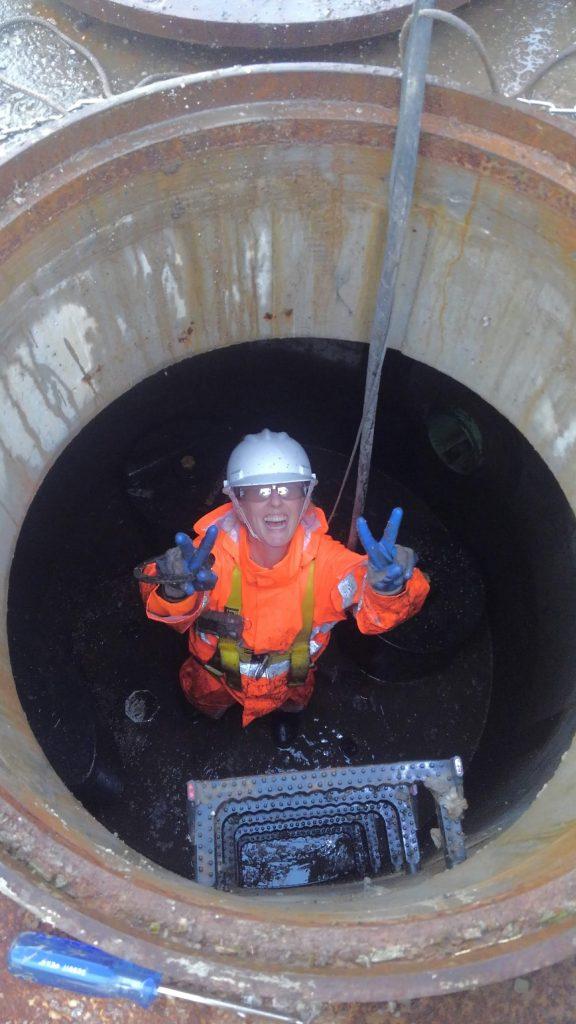 public works manhole