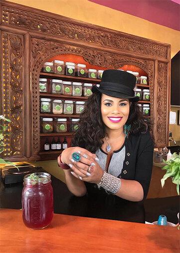 tea shop black-owned