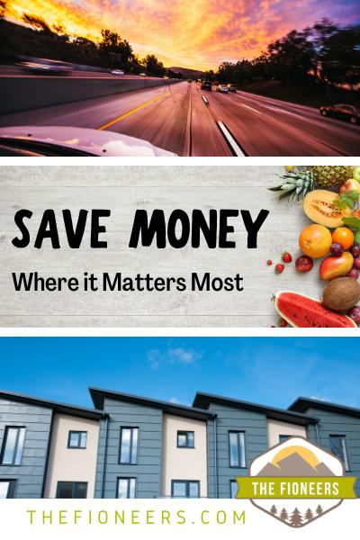 save money house care food