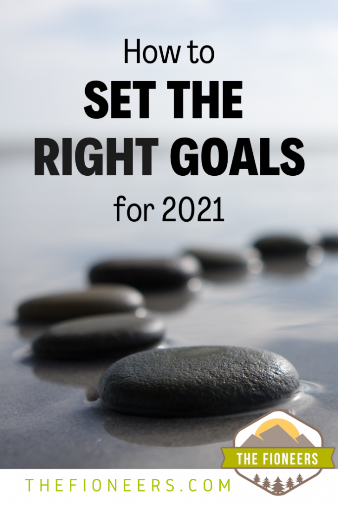 goals stepping stones