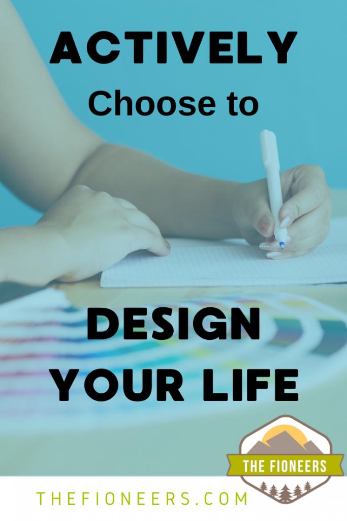 design woman writing