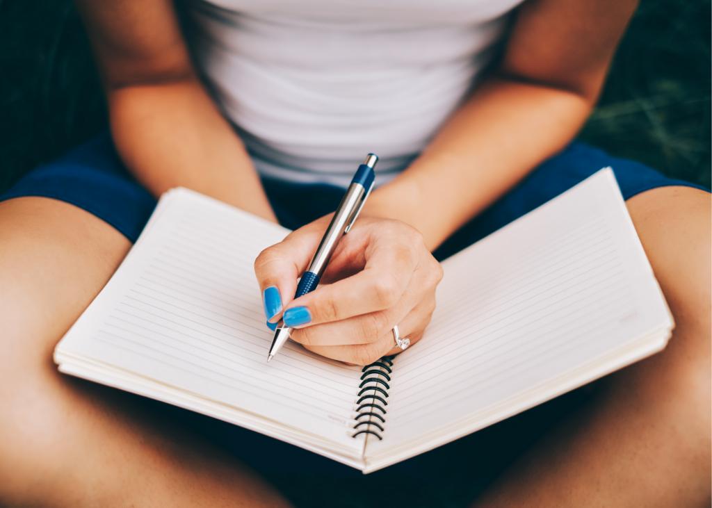 journal mindfulness reflection