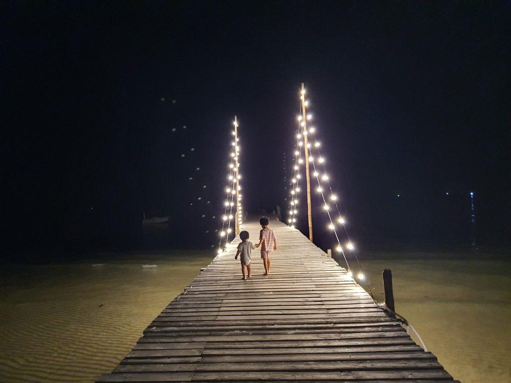 kids dock night lights