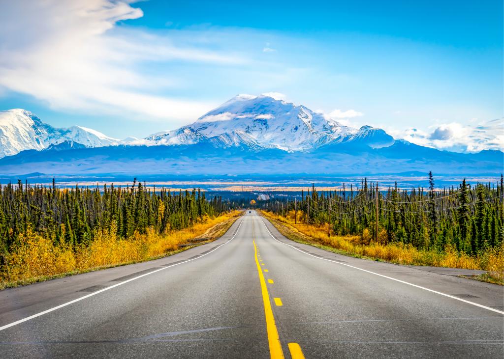 road trip mountain travel