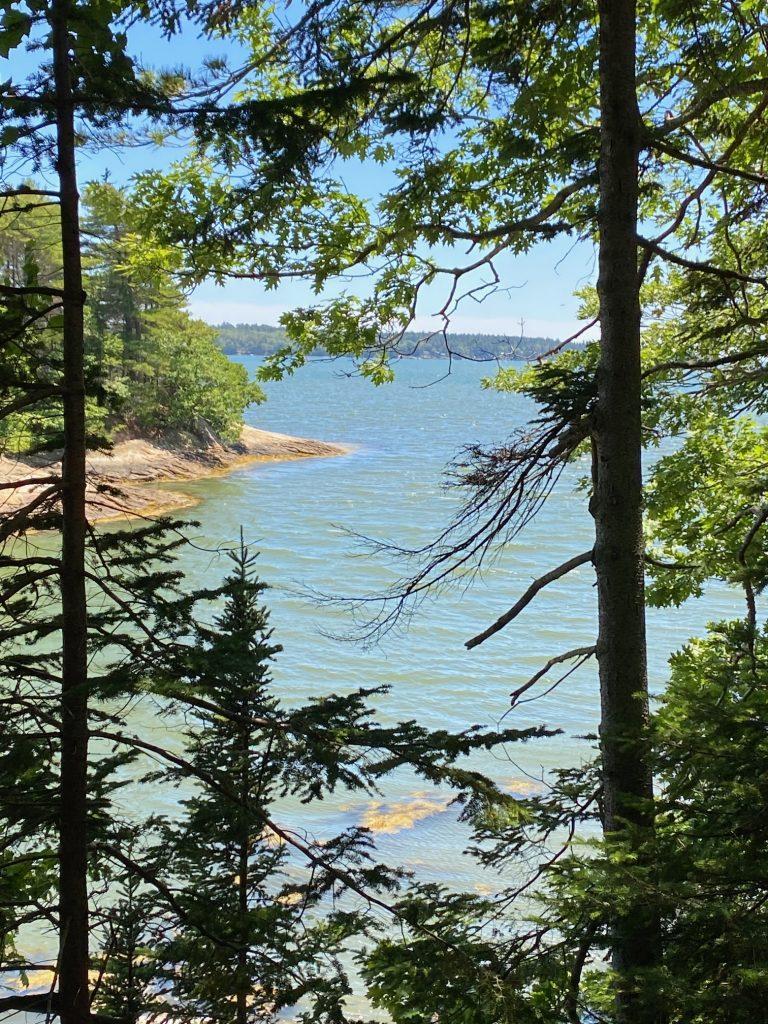 hike waterfront coastline