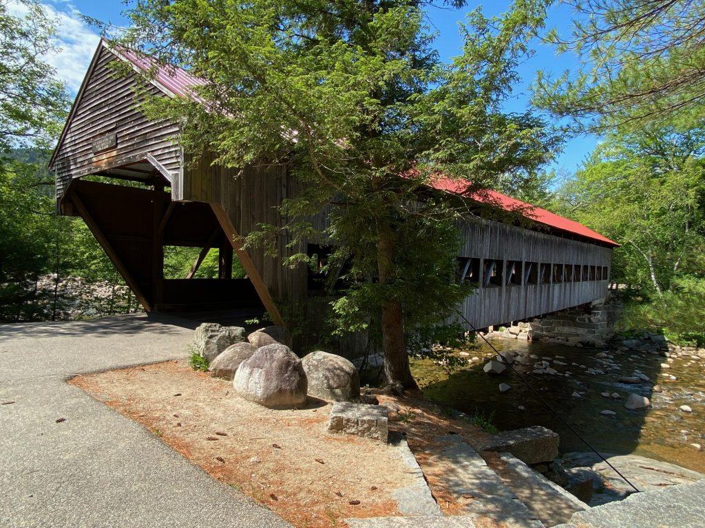 covered bridge river