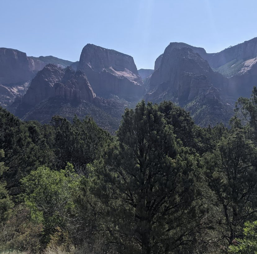 mountains Zion national park