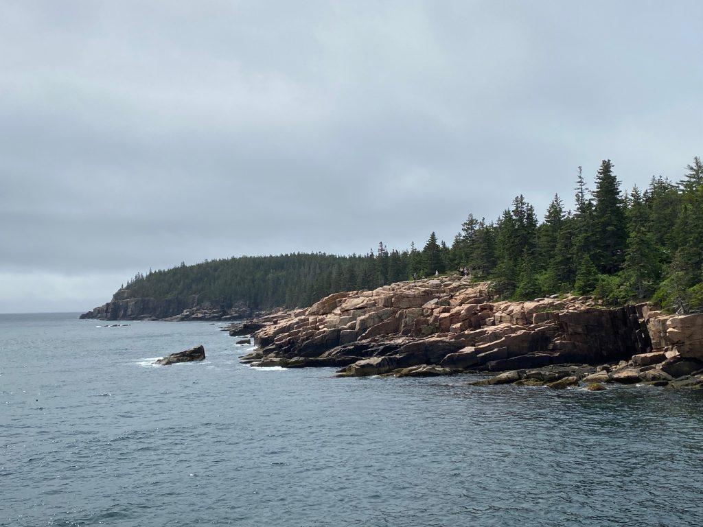 Acadia coastline ocean