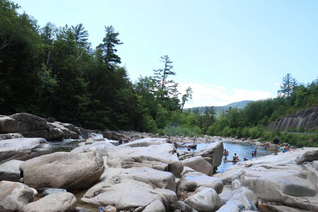 swift river falls swimming