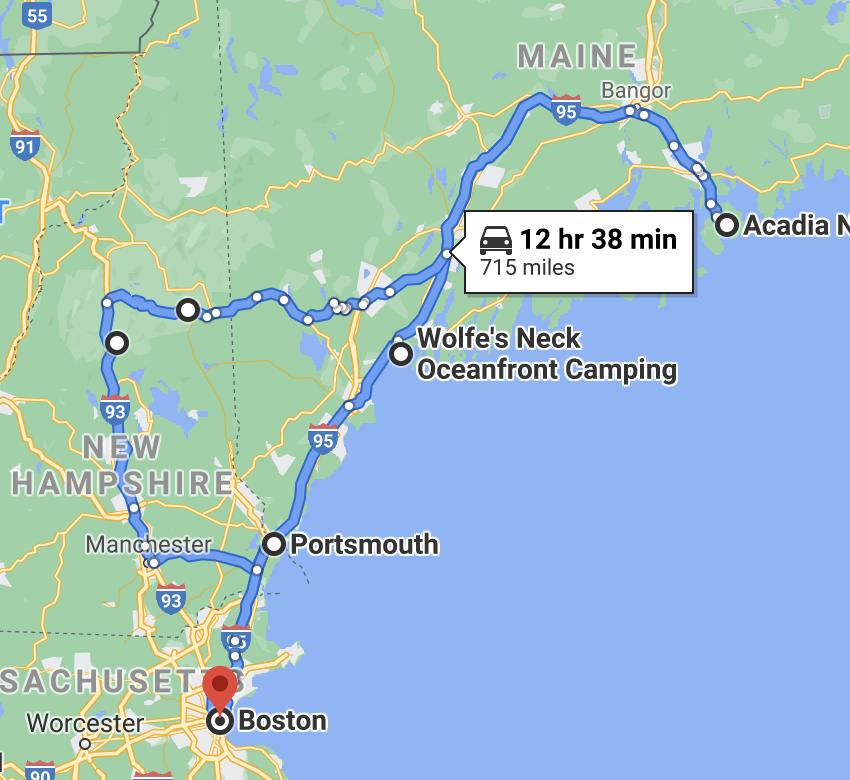 google map driving