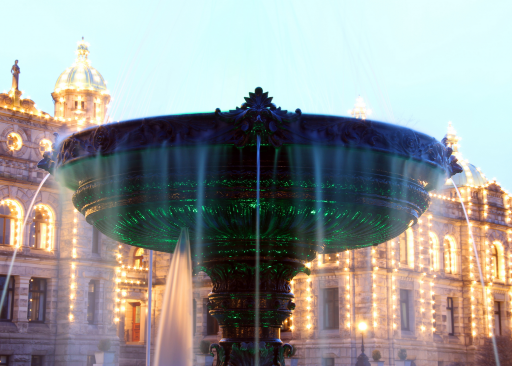 overflow fountain