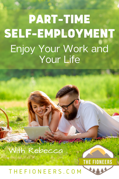 part-time self-employment couple happy